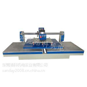 供应热熔胶机 t恤印花机 压烫机 烫画机 上滑式气动双工位烫画机