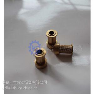山东 滨州 厂家供倍力特铜制MXL 同步带轮 同步皮带轮