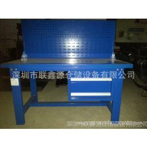 供应工作台厂家批发 维修专用重型工作台 组装铁板工作桌 工作台图片