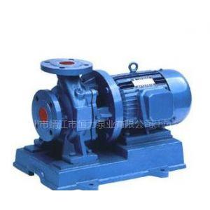 供应恒力牌IHW型单级单吸卧式离心泵、单级单吸卧式管道离心泵、管道泵