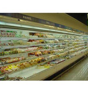 供应深圳中奥冷柜广西南宁KTV超市冷藏保鲜风幕柜
