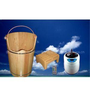 供应泰国橡木不绣钢内煲中药蒸汽熏蒸桶(T-880)