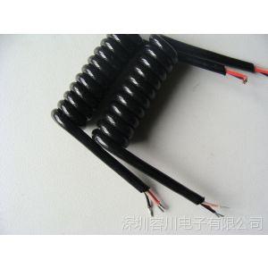 供应TPU柔性好螺旋线 超强弹力伸缩线 亮面弹弓线直销厂家