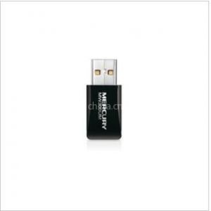 供应正品水星MW300UM 11N无线USB网卡 全新迷你型 内置智能天线
