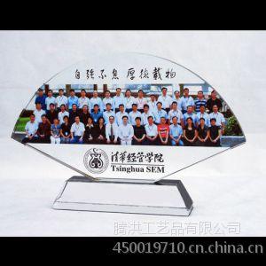 惠州水晶照片定做 水晶彩印人物风景影像 纪念品定制刻字