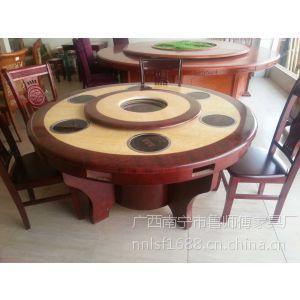 供应南宁餐厅大理石圆桌、鲁师傅大理石圆餐桌厂