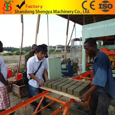 专业生产全自动液压免烧砖机设备、非洲免烧砖机出口、QT4-15型免烧砖机生产线