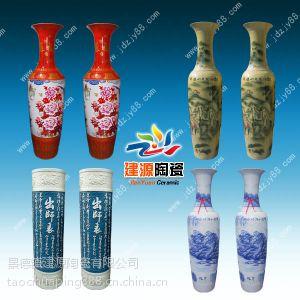 供应乔迁送陶瓷大花瓶,清明上河图大花瓶,大花瓶批发价格