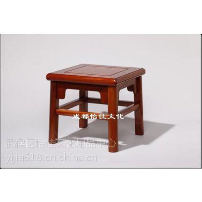 红木凳子 实木仿古小方凳 红木板凳价格