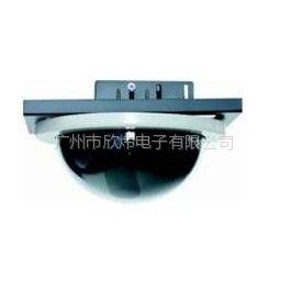 供应7寸吸顶半球罩 监控枪式摄像机护罩 平嵌手动球型云台半球罩