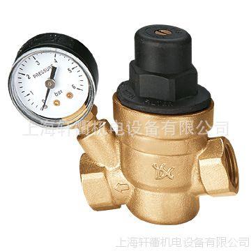 永德信 热水器 净水器 家用 自来水 减压阀 稳压阀 带压力表 dn50图片