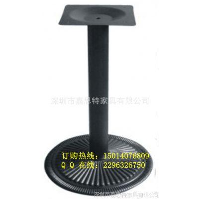 深圳现货供应铸铁桌腿 高档餐厅生铁圆底座
