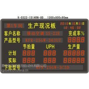 供应K-0322-1514RN-8D 生产现况电子看板:实现生产线自动计数,实时采集数据,目视化管理