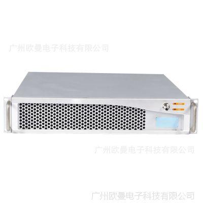 标准2U机架式服务器机箱 软路由防火墙机箱