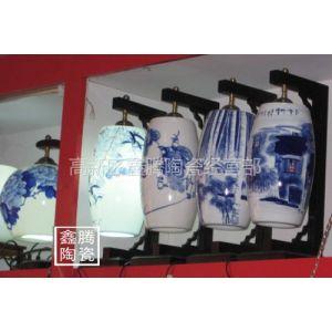 供应青花瓷灯具,家居日用台灯,精品陶瓷灯具