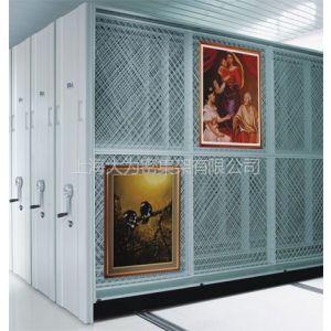 供应博物馆用油画密集架,上海油画档案架