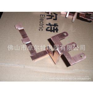 供应T2紫铜箔软连接片 汽车连接片 电池铜排导电带 桥架 汇流条
