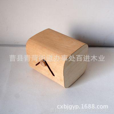 百进木业 木桦木软化木皮包装盒 茶叶木皮盒 印度神油精油包装盒
