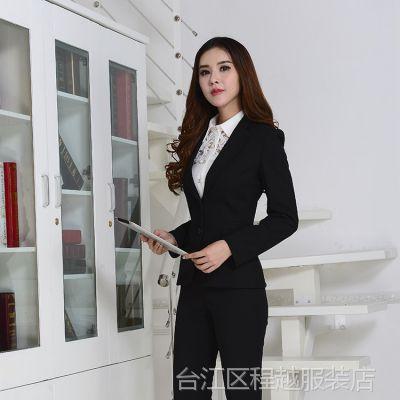 新款职业套装女装 韩版职业女式西装正装 女款时尚高档职业套装