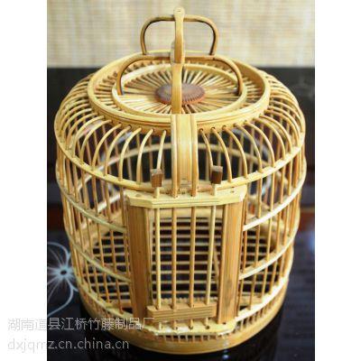 江桥竹藤生态装饰鸟笼工厂定做批发各种款式竹制鸟笼 宠物笼