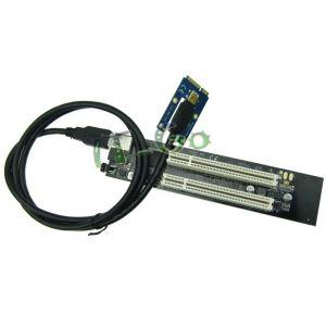 供应mini pcie转pci转接卡 mini pcie扩展PCI插槽 笔记本PCI插槽扩展
