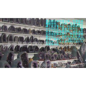 供应巴西紫水晶洞 乌拉圭紫晶洞摆件 聚宝盆 消磁防辐射招财一物一图