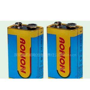 供应深圳市金凯能电池有限公司供应9V碱性电池