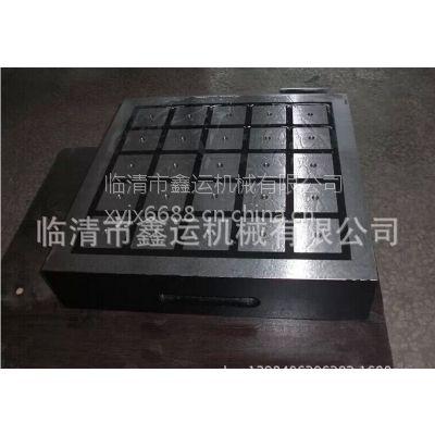 厂家供应鑫运超强力方格形永磁吸盘x91-150*400电控永磁吸盘