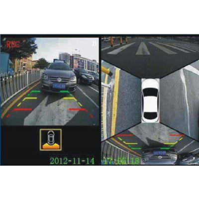 奔驰GL升级360全景鸟瞰泊车系统广州创能汽车电子有限公司