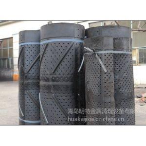 供应青岛华凯专业制作出售 抛丸机耐磨胶皮抛丸器耐磨护板 18300249888