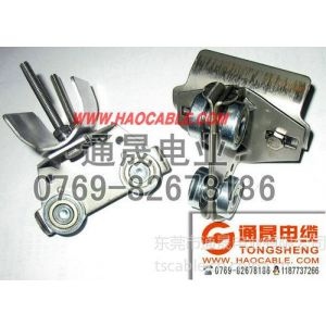 供应304排线滑轮,304不锈钢滑车,304扁电缆滑车