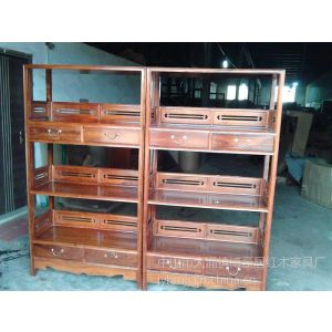 供应中山市大涌镇博豪居红木家具厂供应的刺猬紫檀书架书柜