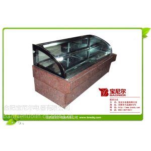 供应北京二手超市风幕柜|冷藏展示柜价格图片