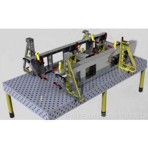 供应柴油机组底座焊接工装|组合工装夹具|机器人工装夹具
