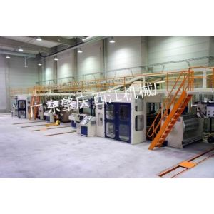 供应(亚洲领先)全自动重型宽幅七层瓦楞纸板生产线