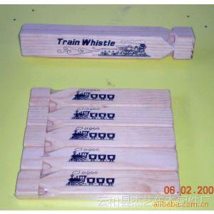【杰艺出品】优质供应爆款热销车模型木制儿童玩具火车口哨(图)