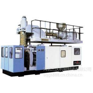 供应25-100升储料式中空吹塑机