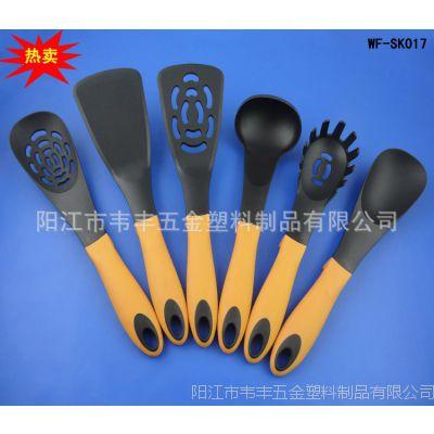 新款尼龙厨具6件不粘锅专用铲勺 耐高温尼龙锅铲面汤勺厨房工具