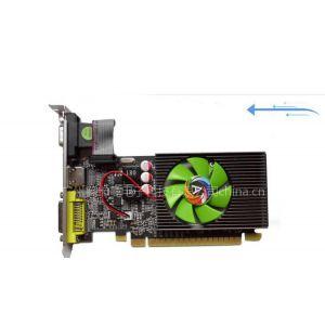 供应 商城正品奥卡曼GT210真实1GB半高/全高大小机箱显卡PCI-E制图高清