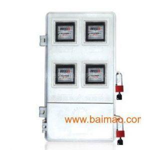 供应四表位农网专用电表箱 电子式电表箱