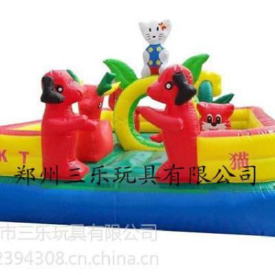 供应郑州三乐充气城堡排行生产商/河北哪里有卖儿童充气城堡