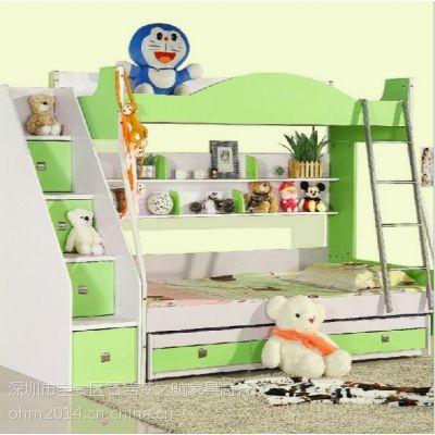 广州厂家直销 双层儿童子母床 高低上下床多功能组合床