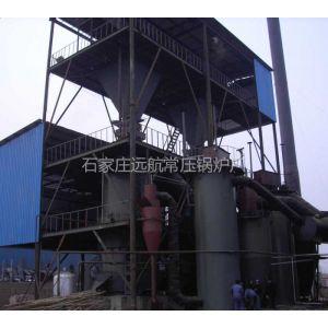 供应双段式煤气发生炉工艺流程及特点
