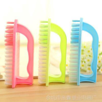 F930 日用百货 连柄式多用洗衣刷塑料洗衣刷清洁刷子