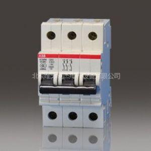 供应ABB微型断路器 小型断路器 空气开关 SH204-C63