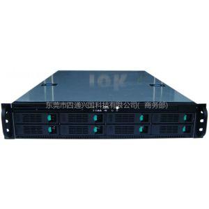 供应iok 2U 8盘热插拔式服务器机箱