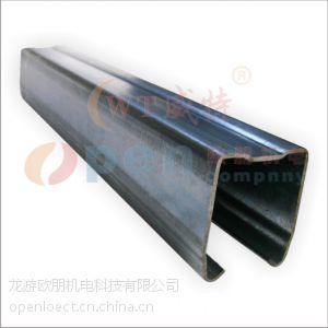 供应威特G1热镀锌轨道2mm厚度门轨导轨
