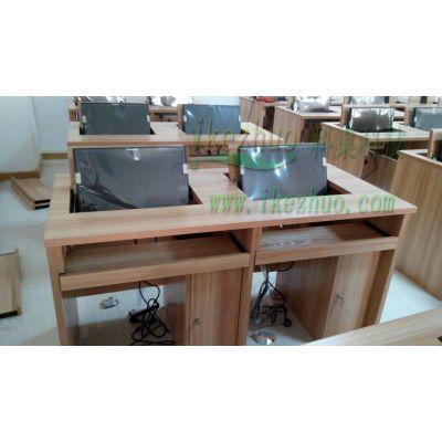 办公桌双人电脑翻转桌 显示器翻转式电脑桌科桌 简约现代