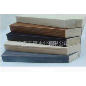供应山东泰安密度板贴面,选择专业的山东临沂宏亮木业!