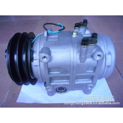 DKS32C汽车空调压缩机,大客车皮带轮及座架。缸体加工中心加工